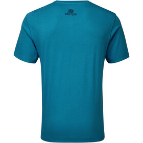 Sherpa Tarcho Miehet Lyhythihainen paita , sininen